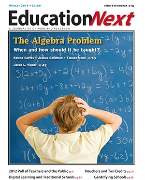 Book cover for Education Next