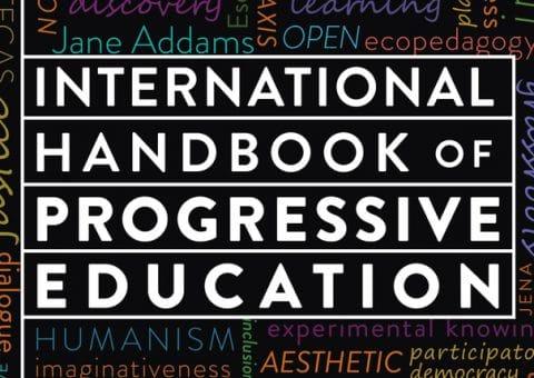 Book cover for the International Handbook of Progressive Education