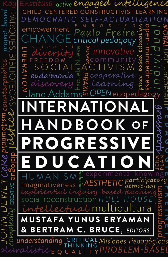 Book cover for the International Handbook of Progressive Education