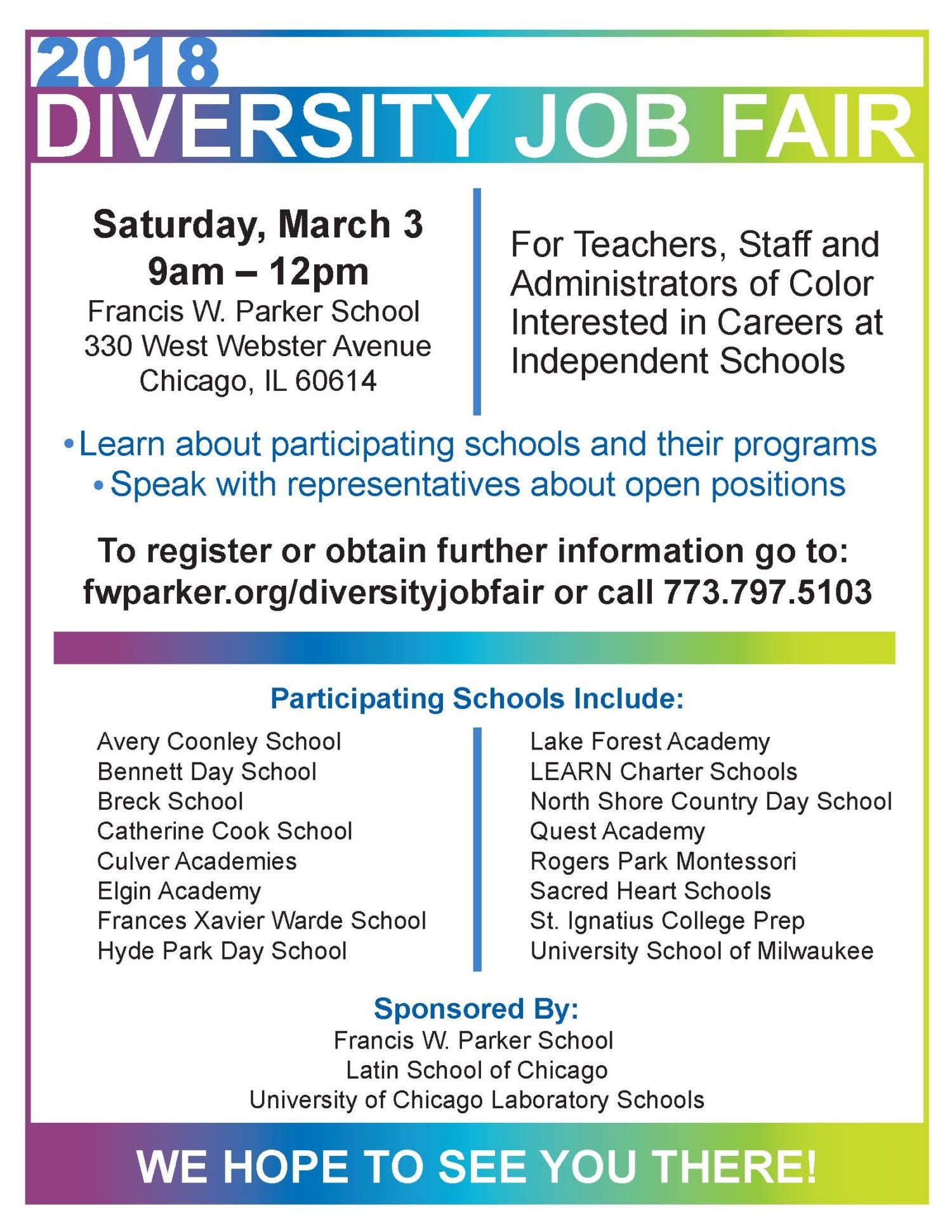 Diversity Job Fair - PEN - Progressive Education Network